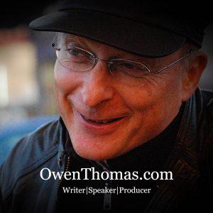 Owen Thomas Writer and Speaker