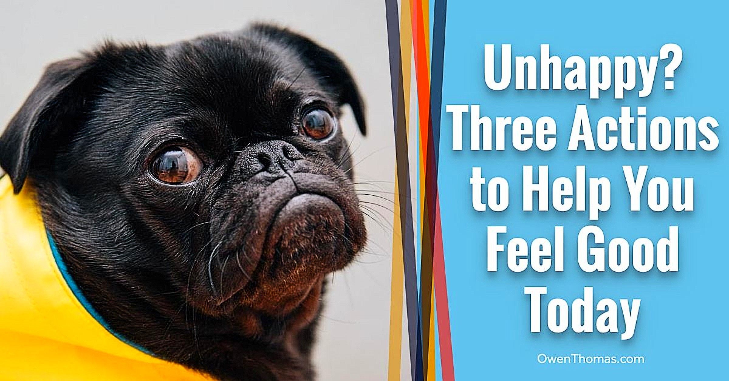 Read more about the article Three Actions To Feel Good…Today